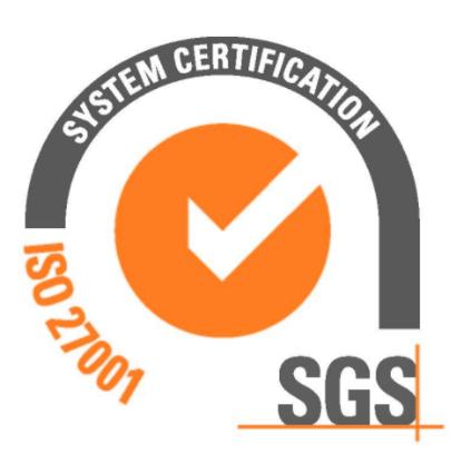 Logotip norme 27001:2013
