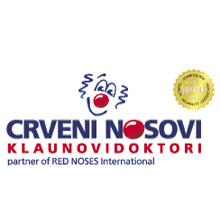 Logotip Udruga Crveni nosovi klaunovidoktori