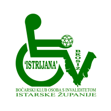 Logotip Boćarski klub osoba s invaliditetom istarske žup. Istrijana