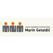 Logotip Udruga Mladi nadareni matematičari Marin Getaldić