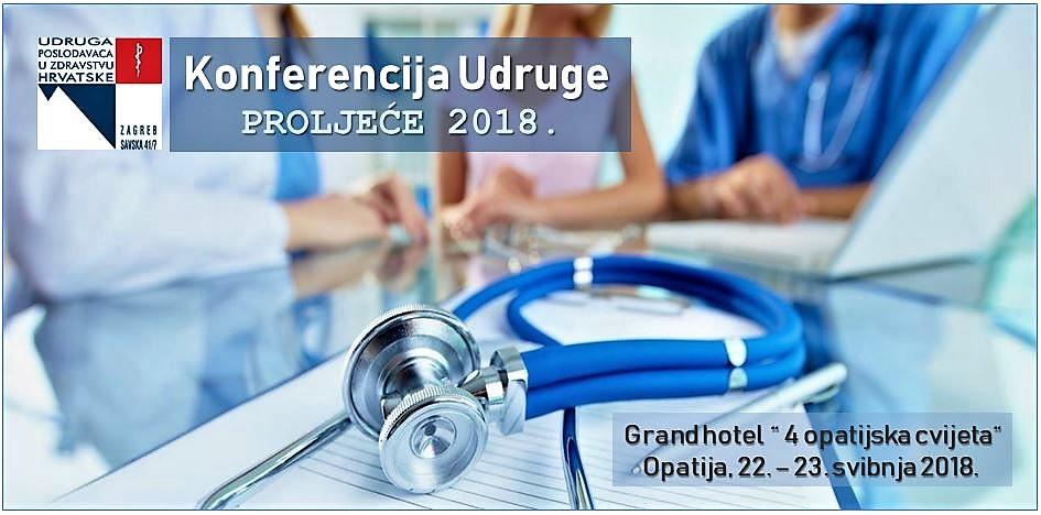 Konferencija Udruge poslodavaca u zdravstvu Hrvatske